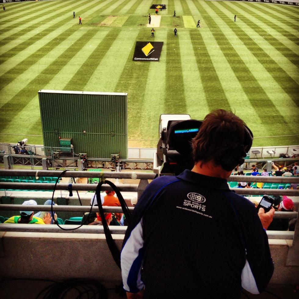 Sydney Cricket Ground Camera
