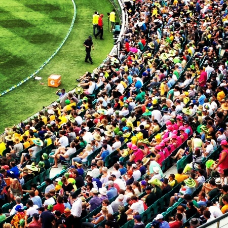 Sydney Cricket Ground Crowd