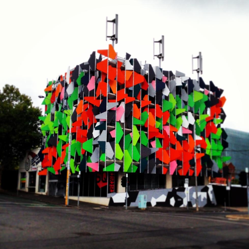 Pixel Building, Carlton Architecture