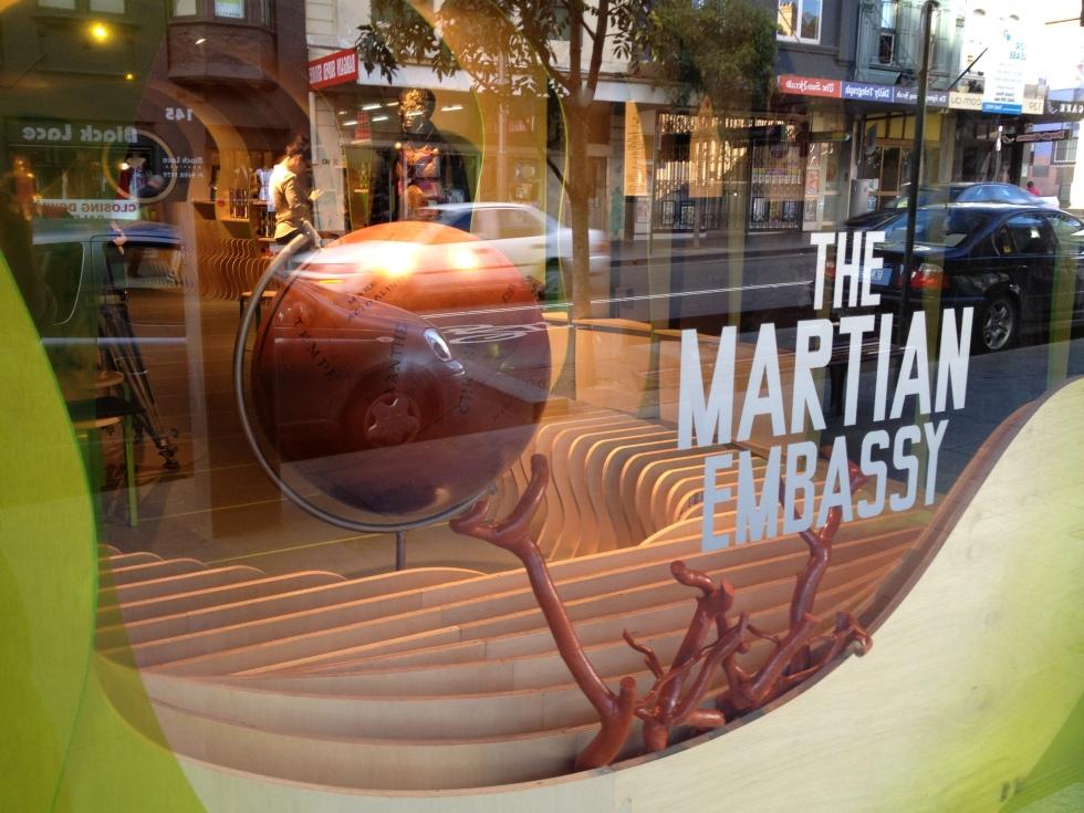 The Martian Embassy John O'Callaghan 1