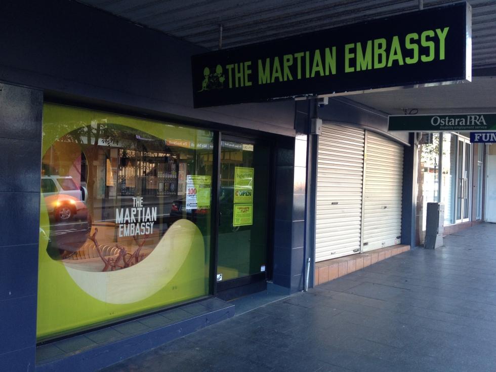 The Martian Embassy John O'Callaghan 5