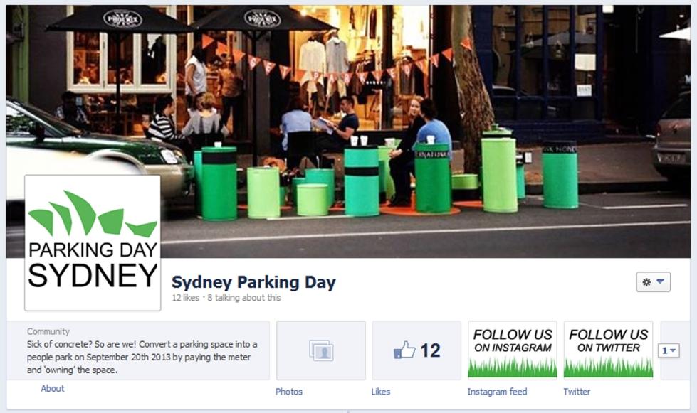 Sydney Parking Day